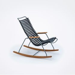 Outdoor Kids Rocking Chair Click | Black