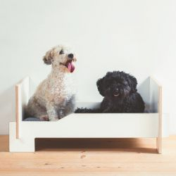 Kläffer Dog Bed | White