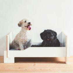 Kläffer Hondenbed | Wit