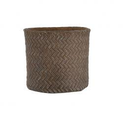 Flowerpot Woven Imitation Cement | Extra Large