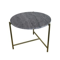 Marble Side Table | Purple