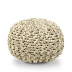 Pouf Woll | Beige