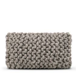 Cushion Cover Wool - 50 x 30 cm | Dark Grey DISCONTINUED