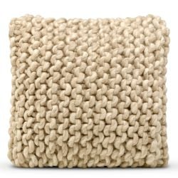 Cushion Cover 50 x 50 cm Wool | Beige