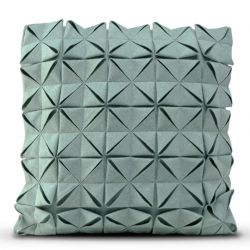 Cushion Cover 50 x 50 cm Geo Felt | Dark Turquoise