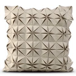Cushion Cover 50 x 50 cm Geo Felt | Beige
