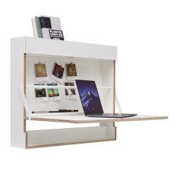 Wall Desk Workout | White
