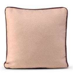 Cushion Cover 50 x 50 cm Piping Felt | Pale Rose