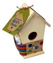 Ontwerp je eigen vogelhuisje