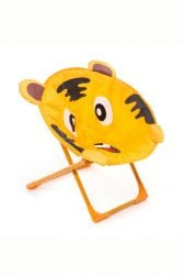 Chaise Enfants Linius Tiger | Orange / Brun