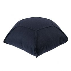 Hexa Felt Pouffe | Navy