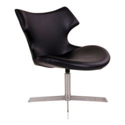 Chaise Longue Zampi | Noir