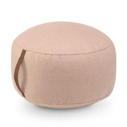 Round Felt Pouf | Pink