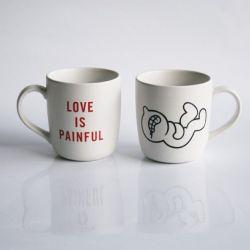 Mr P Mug | Love is Painful
