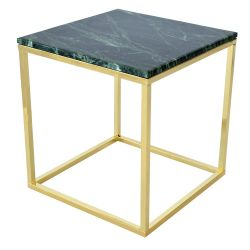 Marble Coffee Table Square 50 | Green