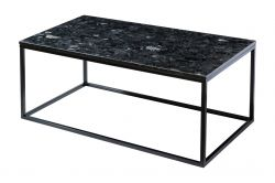 Table d'Appoint Accent | Noir Crystall