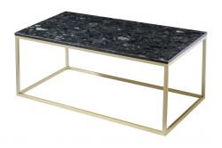 Table Table d'Appoint Accent 100 x 35 cm | Noir