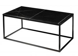 Table d'Appoint Accent | Noir Marbre