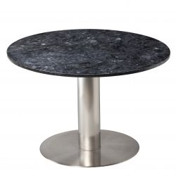 Dining Table Pepo Ø 105 cm | Black