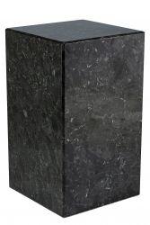 Sockel Labradorit H 50 cm | Schwarz