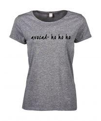 T-shirt Avocad- Ho Ho Ho | Grey