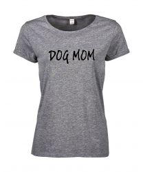 T-shirt Dog Mom | Grey