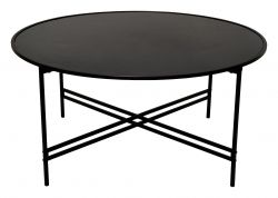 Table d'Appoint Maison Ø 100 cm | Noir