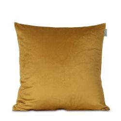 Velvet Cushion Cover Mustard | 100% Polyester