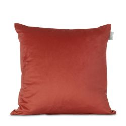 Velvet Cushion Cover Orange | 100% Polyester