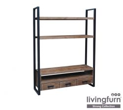 TV Stand Strong 3 Drawers 150 x H 200 cm