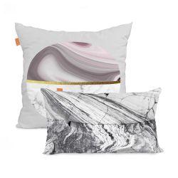 2er Set Kissenbezüge Essence Marble | 50x50cm + 50x30cm