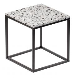 Table d'Appoint Cosmos 50 x 50 cm | Blanc