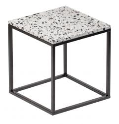 Side Table Cosmos 50 x 50 cm | White