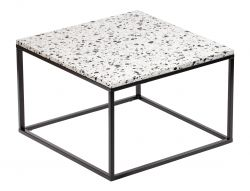 Table d'Appoint Cosmos 75 x 75 cm | Blanc