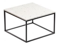 Coffee Table Bianco 75 x 75 cm | White