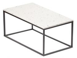Table d'Appoint Bianco 110 x 60 cm | Blanc