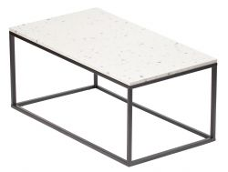 Coffee Table Bianco 110 x 60 cm | White