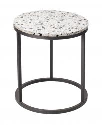 Round Side Table Cosmos Ø 50 cm | White