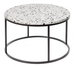 Round Coffee Table Cosmos Ø 85 cm | White