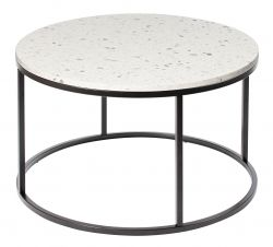 Round Coffee Table Bianco Ø 85 cm | White