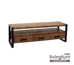 TV Stand Strong 3 Drawers 150 cm