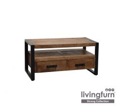 TV Stand Strong 2 Drawers 102 cm