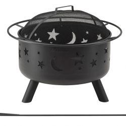 Fire Pit   Stars & Moon