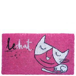 Fußmatte | Le Chat | Rosa