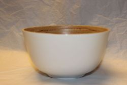 Bamboo Bowl White