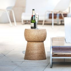 Side Table Giant Champagne Cork