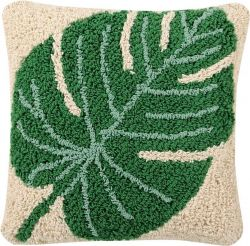 Cushion | Monstera | Green