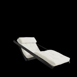 Sofabed Figo 70 | Black Frame + Natural Mattress