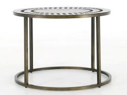Table d'Appoint Stitch | Ronde