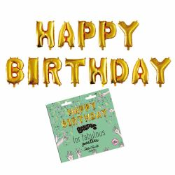 Word Balloons | Happy Birthday
